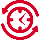 job-search-symbol-of-a-clock-with-arrows-circle-around.png